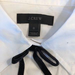 J. Crew Tops - NWOT! J. Crew button shirt with velvet bows!